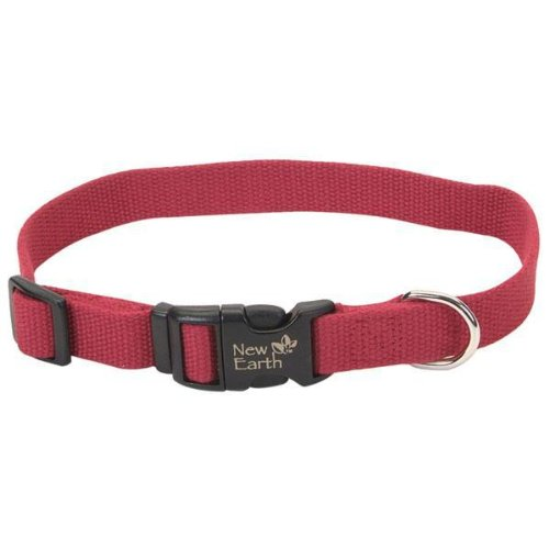 Earth Soy Collar - Dog - 5/8 x 8 - 12 - Cranberry