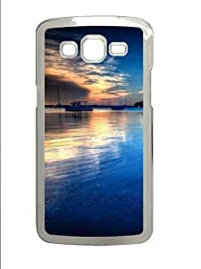 Exceptional Boat Anchored PC Case Cover for Samsung Grand 2 and Samsung Grand 7106 Transparent by runtopwell