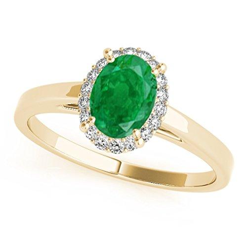 0.55 Ct Emerald Cut Diamond - 4