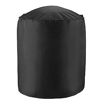 MOONVVIN cubierta para barbacoa, cubierta para ahumar, cubierta para barbacoa, cubierta resistente e