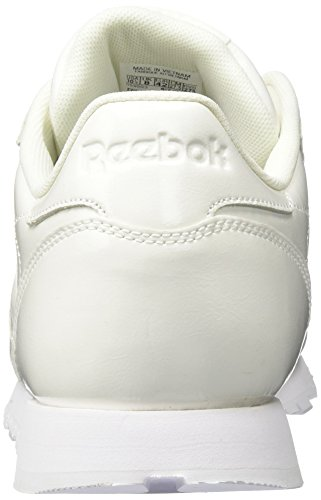 Reebok Classic Leather Patent, Zapatillas Para Mujer Blanco (White 000)