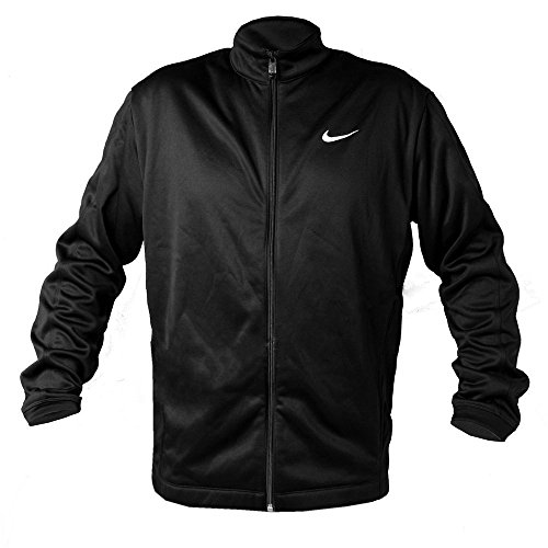 Nike Golf Therma-Fit Stay Warm Mens Full Zip Jacket (large, black)