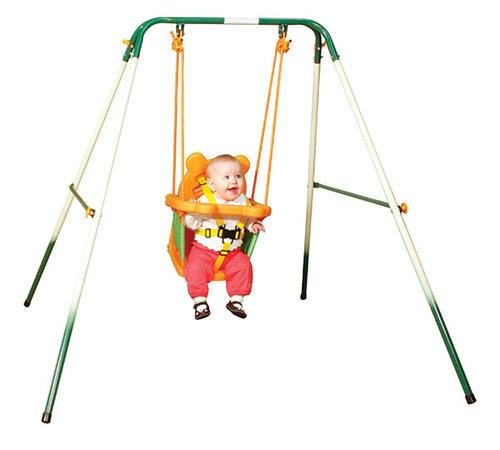 Sportspower For Baby Folding Toddler Indoor & Outdoor Swing Set