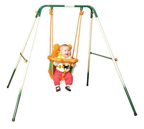 Sportspower For Baby Folding Toddler Indoor & Outdoor Swi...
