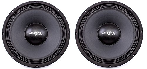 (2) Skar Audio FSX10-4 400-Watt 10-Inch 4 Ohm Mid-Range Loudspeakers - 2 Speakers