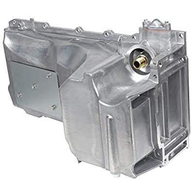 FEIPARTS Engine Oil Pan for 2007-2015 Cadillac Chevrolet GMC Savana 1500 2500 3500 Yukon XL 1500 2500 4.8L 5.3L 6.0L 6.2L OE Solutions 264-375 Oil Drain Pan: Automotive