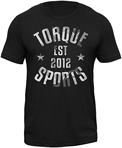 Torque MMA Apparel For Men, Short Sleeve T-Shirt, Tactic Shadow, X-Large