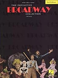 FABER MUSIC DEFINITIVE BROADWAY COLLECTION - PVG Sheet music pop, rock Piano voice guitar