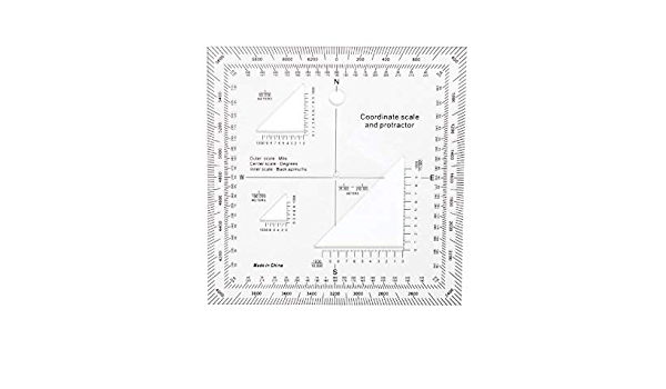 Rothco Coordinate Scale Protractor 1177