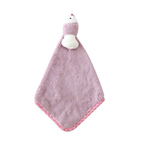 Hanging Mini Cute Animal Cartoon Absorbent Hand Towel