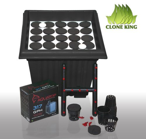 Clone King: Aeroponic Cloning Machine, 25 Site