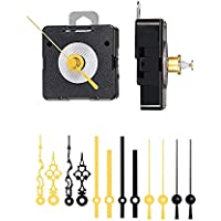 Quarz Uhrwerk Schleichendes lautlos kein Ticken Uhrzeigerset Zeiger-Sets DIY #48