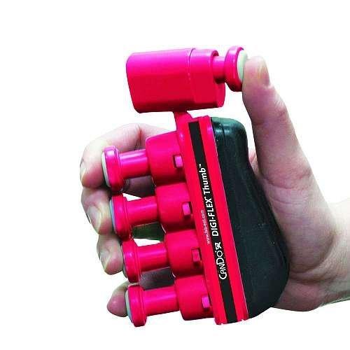 CanDo 10-3762 Digi-Flex Thumb, Light, Red by Cando