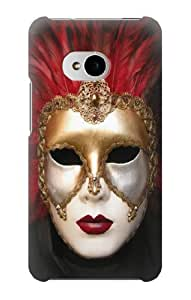 S0583 Venice Carnival Mask Case Cover for HTC ONE M7