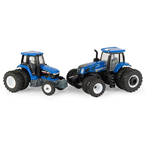 1/64 Limited Edition 2018 Winter Farm Show New Holland T8.435 & Ford 8970 2 Piece Set