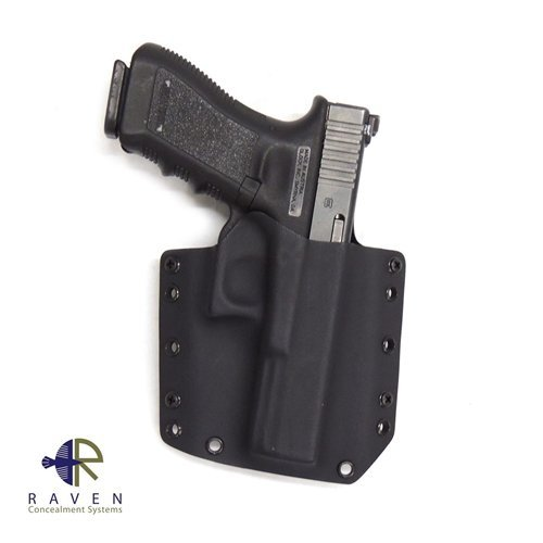 Raven Concealment Systems Phantom Modular OWB Holster Fits Glock 17/22/31 with 1.50
