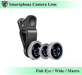 スマートフォン カメラレンズ クリップ式 シルバー 魚眼レンズ・広角レンズ・マクロレンズ 自撮り・SNS写真に最適 iPhone・Android・タブレットなどのデバイスに 【AK-PH-018S】