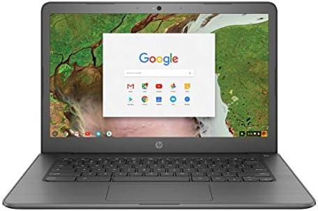 "HP Chromebook 14"" Touchscreen Laptop Computer for Student_ Intel Celeron N3350 as much as 2.4GHz_ 4GB DDR4 RAM_ 32GB eMMC_ AC WiFi_ Type-C_ Webcam_ Chrome OS_ BROAGE 64GB Flash Stylus_ Online Class Ready"