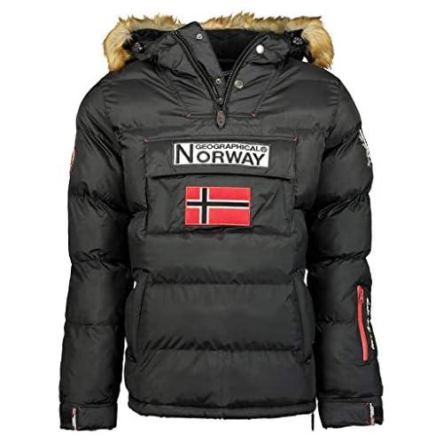 chollos oferta descuentos barato Geographical Norway Chaqueta de hombre BOKER NEGRO talla L