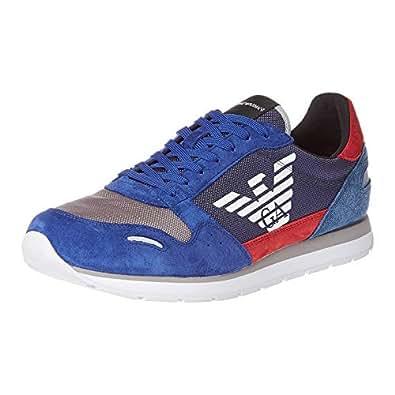 Emporio Armani Men'S Shoes, Blue, Men'S Shoes, X4X215 Xl200, 45 EU