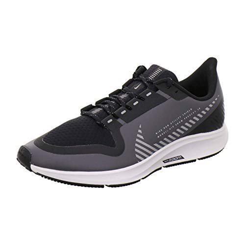 Nike Air Zoom Pegasus 36 Shield Men's Running Shoe Cool Grey/Silver-Black-VAST Grey Size 11