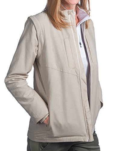 SCOTTeVEST Women's Standard Jacket - 25 Pockets - Travel Clothing, Pickpocket Proof BGE XL