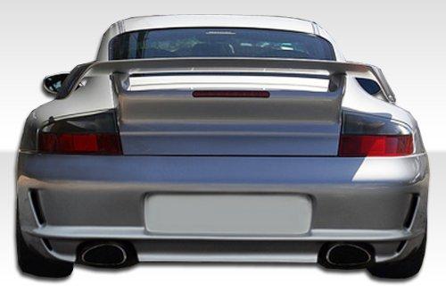 Duraflex Replacement for 1999-2004 Porsche 911 Carrera 996 C2 C4 997 GT-3 RS Conversion Rear Bumper Cover - 1 Piece ()