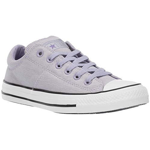 (Converse Women's Chuck Taylor All Star Varsity Madison Low Top Sneaker, Oxygen Purple/White/Black 9 M US)