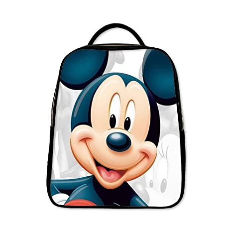 scottshop Custom Mickey Mouse Mochila Mochila Escolar Casual sintética de viaje de piel: Amazon.es: Electrónica