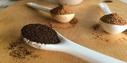 Natural Vanilla Bean Powder, 8 oz - Raw Ground Vanilla Beans, Unsweeted, Non GMO, Gluten-Free - Freshly Ground Before Packaging by Vanilla Bean Kings (Image #2)