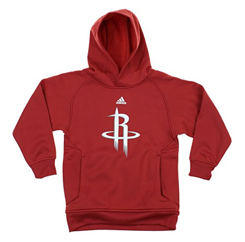 NBA Youth Boys Basketball Team Logo Pullover Hoodie, Various Teams (Houston Rockets, Medium (Houston Hoops Basketball)