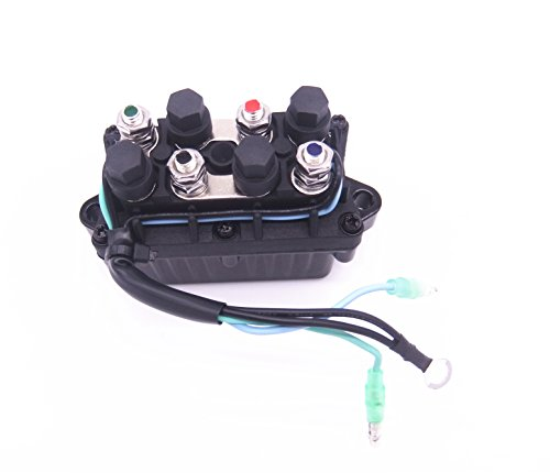 6H1-81950-00-00 6H1-81950-01-00 Boat Power Trim and Tilt Relay Assy for Yamaha 30 - 90hp Outboard ()
