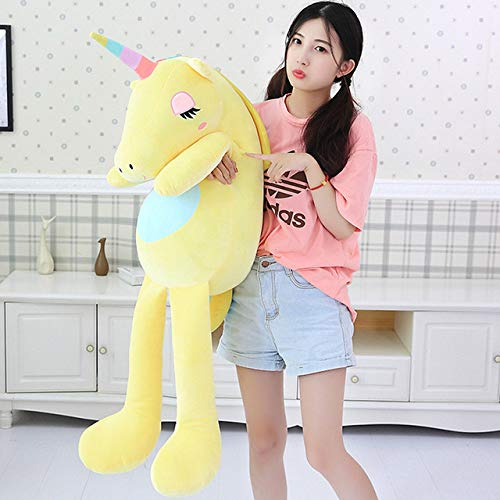 New Large Soft Animal Plush Toy Stuffed Toy Girl Gift Children's Toy Sofa Pillow Cushion Home Decoration New Must Haves 8 Year Old Girl Gifts The Favourite Toys Superhero Toys Must Have Baby Items S by LAJKS