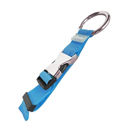 Yingli Portable Jecket Holder   Gripper  Luggage Strap   Third Hand For Travel Accessories   Carry On Gear Hands Free  Blue