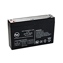 Power Patrol SLA0925, SLA 0925 6V 7Ah UPS Battery - This is an AJC Brand® Replacement
