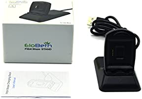 EloBeth for Fitbit Blaze Charger, Replacement Charging Stand Charging Cradle Dock Adapter Holder Desktop Station for Fitbit Blaze Smart Fitness Watch ...