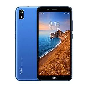 Xiaomi Redmi 7A Smartphone, 2GB RAM 16GB ROM Dual SIM 5.45 » Pantalla Completa, Qualcomm Snapdragon  SDM439 Octa-Core Procesador,Fuente Grande, Cámara Trasera de 13MP Cámara Frontal de 5MP (Azul) 41Xy0ZZx9XL