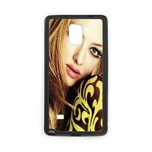 Samsung Galaxy Note 4 Cell Phone Case Black Amanda Seyfried 2 Ayobr