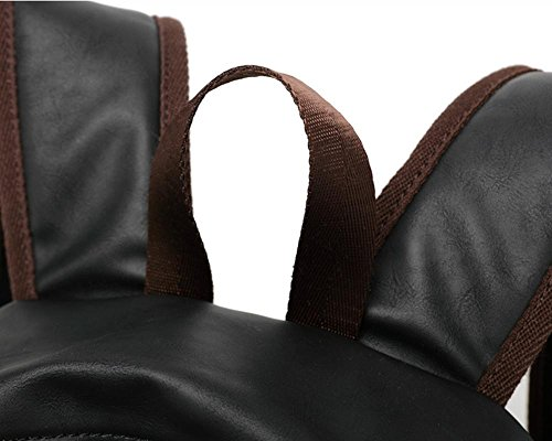 Xiuxiandianju Mochila de hombro bolsas de 20L vintage de hombres , black Black