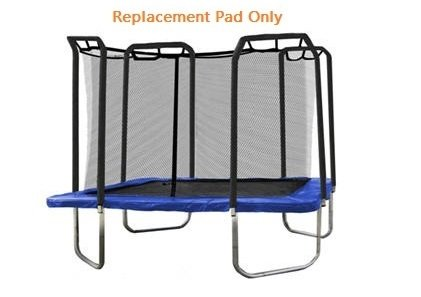 TRAMPOLINE DEPOT - Heavy Duty Blue 13X13 Square Replacement Safety Pad