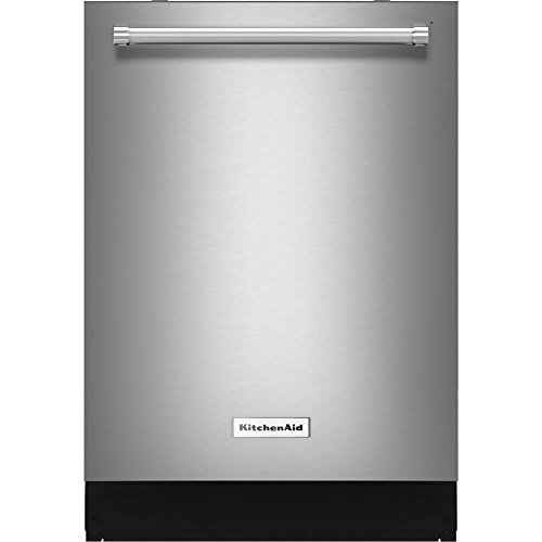 KitchenAid Top Control Dishwasher in Stainless Steel with Dynamic Wash Arms, 44 dBA