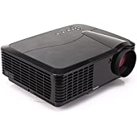 FR S86 4500 Lumen 1080P HD Home Theater Multimedia USB VGA HDMI LED Projector