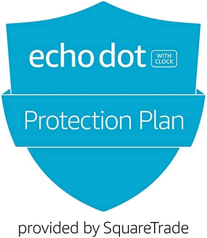 2-Year Accident Protection Plan for All New Echo Dot 4th Gen w/clock