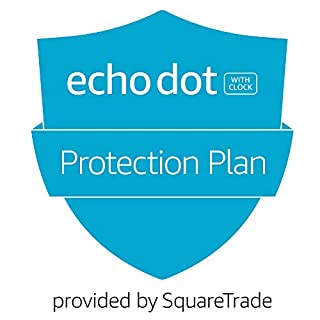 2-Year Protection Plan plus Accident Protection for Echo Dot 3rd-Gen with clock  (2019 release, delivered via e-mail)