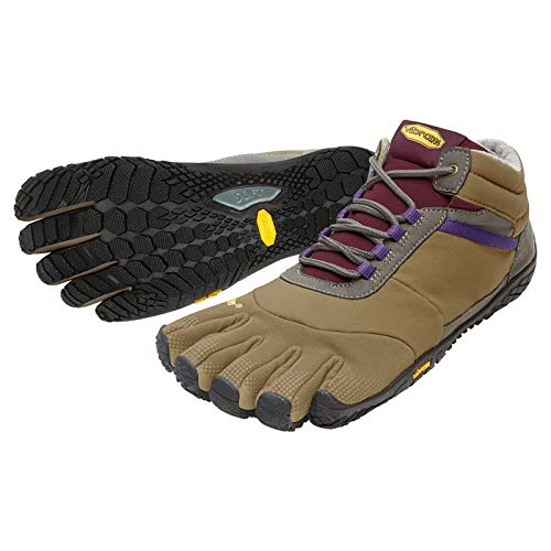 Khaki Grape Vibram Fivefinger Ladies Shoes Insulated Trek Walking Ascent TwR07q8Sw