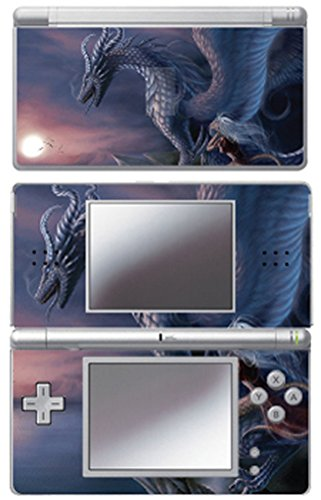 Nintendo Ds Faceplates - MightySkins Protective Vinyl Skin Decal Cover Sticker for Nintendo DS Lite - Dragon Fantasy