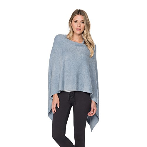Barefoot Dreams Bamboo Chic Lite Ruana, Color: Chambray by Barefoot Dreams