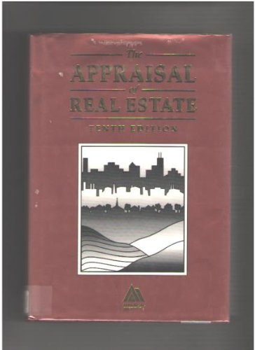 The Appraisal of Real Estate