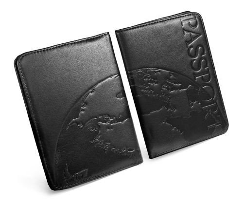 Napa Personalised Passport Black Luv Holder Leather Wallet Tuff Case Eq8gP5xx