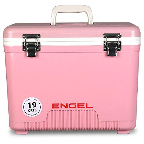 Engel Cooler/Dry Box 19 Qt - Pink
